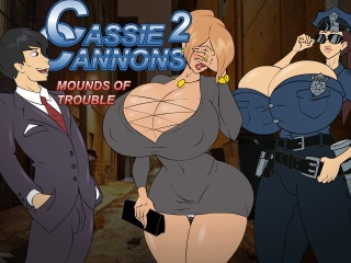 Cassie Cannons 2 Mounds of Trouble