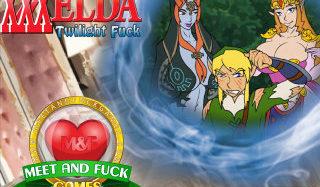 The Legend of XXXelda: Twilight Fuck